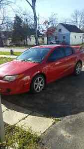 2006 Saturn redline supercharged new G forces and winters London Ontario image 1