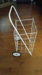 Quality White Newspaper/ Grocery Cart London Ontario image 1