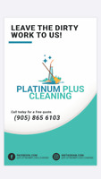 Cleaning company. Leave the dirty work to us!