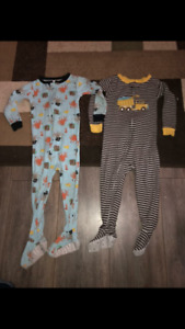 Boys 24 months sleepers and socks