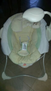 Clean Fisher Price Baby Papasan Baby Cradle Seat