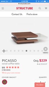 "Structube Coffee Table ""Picasso"""