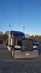 2008 PETERBILT 389 And 2015 Super B for sale