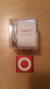 Red Limited Addition Ipod Shuffle 2GB