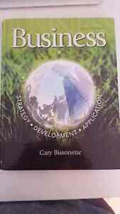 Business text book by Gary Bissonette Windsor Region Ontario image 1