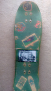 "1988 Vintage Neil Blender ""driving"" skateboard"