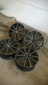 "SET OF 4 ""DROPSTAR"" ALLOY RIMS"