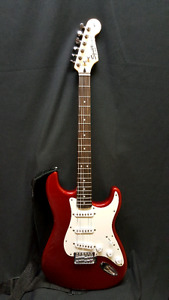 Fender Squier Strat with Marshall amp