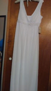 SJHS grads/ brides-to-be! Elegant goddess dress, wedding or grad