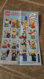 Lego The Simpsons Series 1 Minifigures