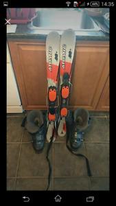 Mini ski  snow blade