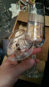Olympic Wine/Champagne Glasses Set