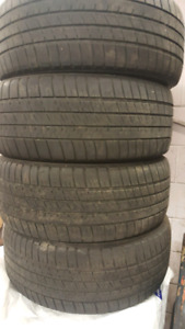 225-50-17 Michelins Pilot sport A\S 3 . DOT 0314 with 4 mm tread