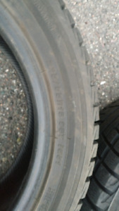 2 Winter Tires 225/55 R18