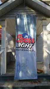Coors Light 8 Foot Banner