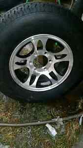 New 205 75 15 and 225 75 15 trailer tires on 5 and 6 bolt rims