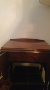 Solid woid Sewing Machine Table
