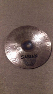 "Sabian 12"" mini china AAX dry bell hand hammered w/ boom stand West Island Greater Montréal image 3"