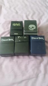 Yugioh deck boxes
