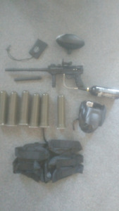 Valken SW-1 Blackhawk paintball set