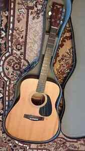Guitar & Case $60