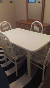 Dining Set with 4 Chairs $75 OBO