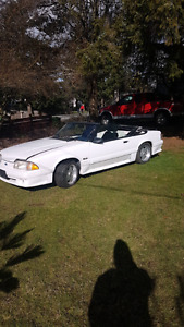1987 ford Mustang convertible Foxbody 5.0 135km trade!