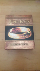 Lord of the rings trilogy for sale