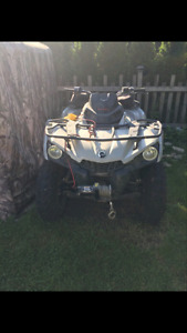 2015 can am outlander 450L