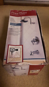 SHOWER FAUCET SET, BRAND NEW, Pfister 808-YP0K Ashfield