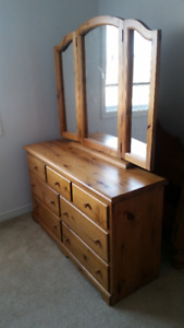 Solid Pine Dresser for sale $1000 obo - local pickup only