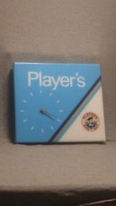 Vintage Player's Clock