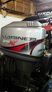 "1999 Mercury / Mariner 150 Optimax Outboard with 20"" shaft"