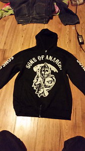 Men's Sons Of Anarchy sweater