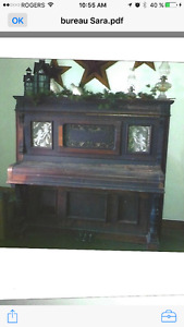 Piano Morris 1890-1930   A DONNER