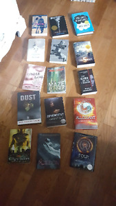 Various YA books