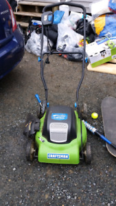 """Corded 18"""" Lawn Mower"""