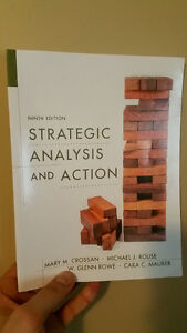 Strategic Analysis and Action 9th Edition