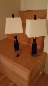 2 Table Lamps for Sale $20 for set of 2