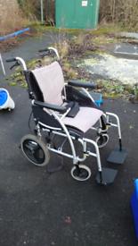 Karma Lightweight Ergo 115 Collapsible Wheelchair
