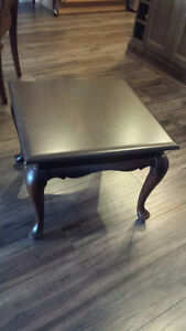 """TWO GIBBARD CANADIAN LEGACY 20""""-Square OCCASIONAL TABLES - $225"""