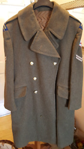 Vintage Canadian Army Great Coat