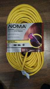 """Outdoor 12 gauge contractor quality extension cord 98'5""""(30m)"""