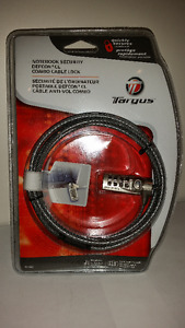 Targus PA410C DEFCON CL Notebook Computer Cable Lock