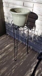 "10"" diameter plant stand holder"