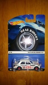 HOT WHEELS Real Riders Heritage Series Datsun Bluebird 510 1/64