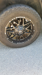 Rims and tires package 35/12.5/20
