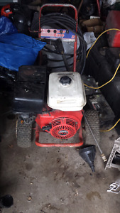 Gas power washer 11hp honda trade for??