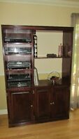 Dishes, Liquor or Entertainment cabinet