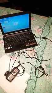 Laptop emachines. 10 pouces